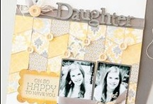 Scrapbook ideas / by Kristen Swain
