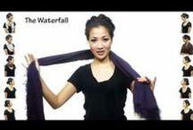 scarf how-tos / by Karen Wiejak