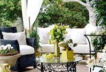 new patio/outdoor wishlist / by Rachel Kilpatrick