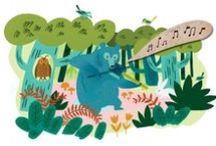 Illustration Inspiration / A mix of inspiring illustrations that I love