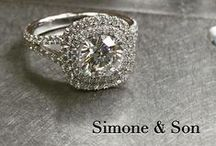 Simone & Son Engagement Rings / Custom creations of fine jewelry and engagement rings made in Orange County CA by Simone & Son  / by Simone & Son Jewelers Custom Jewelry
