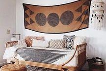 Home sweet home / boho interior, bohemian home, home decor, plants,
