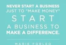 Business Ideas and Inspiration