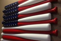 DIY Patriotic Creative Projects / Patriotic crafts and projects. Everything red, white and blue.  If you love America and DIY projects, you should find some great inspiration here.