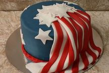 BEST PATRIOTIC CAKE RECIPES / The USA Freedom Kids love anything red, white and blue.  Be the star of any party with these incredible patriotic cake recipes.  Show your support for the USA.