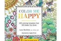 Coloring In / Colouring In Books For Adults