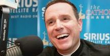 "Paulist Fr. Dave Dwyer / Paulist Fr. Dave Dwyer leads our media ministry Busted Halo and hosts ""The Busted Halo Show"" on The Catholic Channel on SiriusXM Radio.  A native of Long Island, NY, and a Syracuse University graduate, he worked for HBO, MTV and Comedy Central before joining us. He was ordained May 27, 2000. From 2000 to 2004, he was a campus minister at the University of Colorado. at Boulder. He lives at our NYC motherhouse and often celebrates Mass at our mother church, the Church of St. Paul the Apostle."