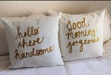 Oh,Pillows.. / by Erin Satriano