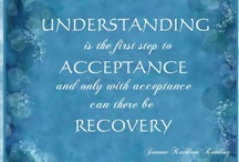 Living Life in Recovery / We recognize a need for change, lay a foundation of hope and make a commitment to improved wellness. We learn to let go of guilt and shame as we connect with others and seek support from those who share in our struggles. Recovery becomes a process of healing and a creation of our true being. Whether in recovery from substance abuse, an eating disorder, mental health recovery or other, let's share our wisdom, insight and encouragement through pins filled with truth and inspiration. Welcome!