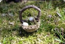 Crafts from nature / crafts made from found objects in nature