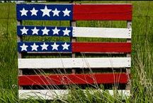 proud to be an american / by Becky Kay