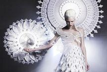 Editorial + fashion / Fashion haute couture