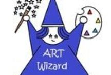 Arted-  Art Wizard Art Lessons- TPT / TeachersPayTeachers.  Arted lessons by Art Wizard. Elementary art lessons. These are some of my art lessons for K-5 art students. ELL / by Marianne Griffith