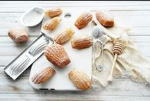 MADELEINES / Madeleines in many flavours, sizes and presentations.... send me your madeleine recipes or critics of pins baked ... / by Give Me Ireland Dreams