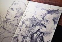 Sketches / Doodles, sketchbooks, random drawigns