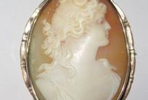 Vintage Cameos / Antique Cameos / by Alison Phalan Antique Jewelry