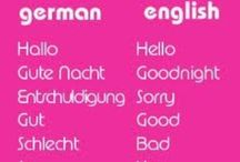 German / The German language helpful hints