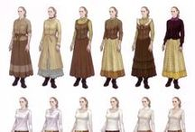 Costume design / Clothes design for characters
