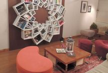 la biblioteca...