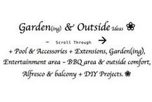 ♥♥♥ G ❀ --> / Outside & Garden Areas; Pool & Accessories + Extensions, Outside garden, BBQ areas, Balcony, Alfresco & Outside comfort