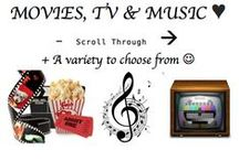 ♥♥♥ MOVIES, TV & MUSIC --> / A variety of Movies, TV shows and Music (including youtube).