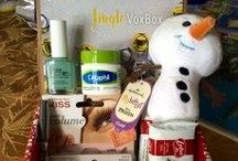 #JingleVoxBox / All the cool stuff I get to try from @Influenster!  And there are some exciting products included in this VoxBox: Cetaphil Moisturizing Cream, Biscoff Cookies, Ore Ida Tater Tots (a coupon), Hallmark Itty Bittys (Olaf is pretty cool!), NYC City Proof 24HR Waterproof Eyeliner (it's fun to glam up), KISS True Volume Lashes and Strip Adhesive with Aloe (probably better than mascara for me), and Pure Ice Nail Polish.  My reviews: http://lianechan.com/2015/12/26/my-influenster-jinglevoxbox/