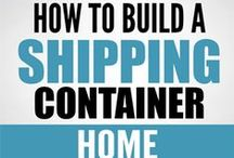 ♡ Eco-Friendly Homes ♡ / ECO-FRIENDLY HOMES + Shipping Containers - + Loads of Ideas for my dream home :D