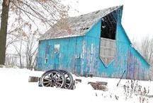 Barns / by Mary Carol Patrick