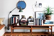 Apartment Therapy / Inspirations for my home now.