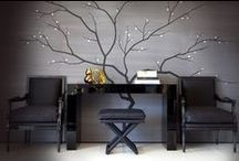 Wallcoverings / A collection of amazing, interesting & glamorous wall coverings including wallpapers, paints, polished plasters & other specialist finishes