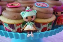 Sew Sweet Treats / Sew many sweet Lalaloopsy cakes, cake pops, cupcakes and other yummy treats!