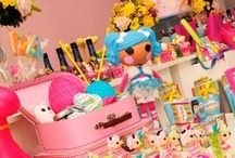 Lalaloopsy Birthday Party / Creative Lalaloopsy themed birthday and party ideas. Sew cute!