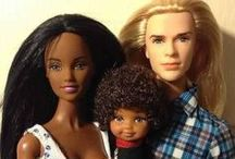Barbie Obsessed / Reliving a childhood affinity, counting the days until my daughter wants one. And because a good ethnic/ black Barbie is too damn hard to find in stores!