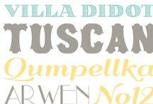 Free Fonts / Fonts, fonts, and more fonts! Preferably free fonts. / by Linda {Craftaholics Anonymous®}