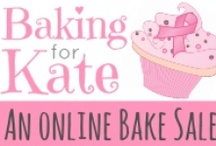 Baking For Kate Online Bake Sale Preview Board / Pinning all the sneak peeks of the goodies that will be up for bid the weekend of May 18-19, 2013 for the Baking For Kate Online Bake Sale.  This board is for preview purposes ONLY.  