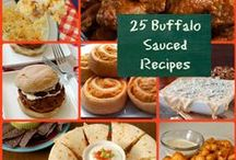 Buffalo Sauced / Buffalo sauce isn't just for chicken, folks even though you will find plenty of chicken recipes here as well. ;) / by Carrie (Frugal Foodie Mama)