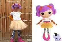 Sew Cute Lalaloopsy Costumes / Playing Lalaloopsy dress up!