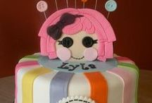 Lalaloopsy Cakes / Cake decorating for kids parties, Lalaloopsy style!