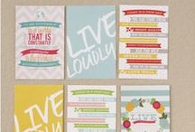 Free Printables / A collection of free printables found around the web. Print away!  / by Linda {Craftaholics Anonymous®}