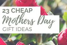Gift Ideas / Gifts // Birthday gifts // DIY gifts // Mother's Day Gifts // Cheap Gifts // Homemade gifts