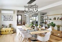 Home | Living Room + Kitchen