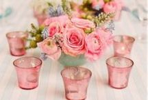 Bouquets, Centerpieces And Tablescapes / Making a pretty table  / by Jody