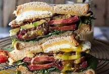 Sandwiches / by Cathy Oliver