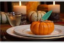 thanksgiving table...
