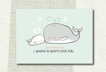 Nursery Ideas / I sense a whale theme!!! / by Jennifer Brand