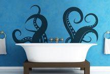 Home - bathroom / by Brianna Schmitz