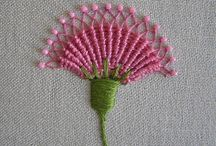 Needle work - Crochet, embroidery, stump work / Handmade needle work