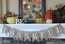 Fall, Halloween, & Thanksgiving