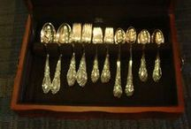 Entertaining.....King Richard Sterling Silver by Towle / by Cathy Oliver