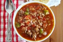 Soup Recipes & Side Dishes / Pinterest's Best Soup and Side Dishes! Pasta Sides - Vegetable Sides - Side Recipes - Soup Recipes - Soup Dinner Ideas - Vegetable Side Ideas and more!